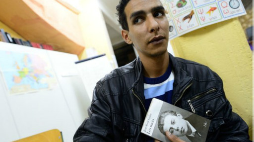 هدف محمد که به سارتر علاقه دارد، این است که روزی در یک دانشگاه فرانسوی جامعهشناسی درس بدهد