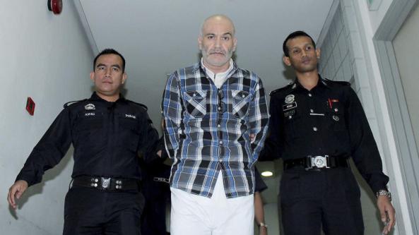 فریبرز تقی وند در دادگاه /  شه علم, مالزی