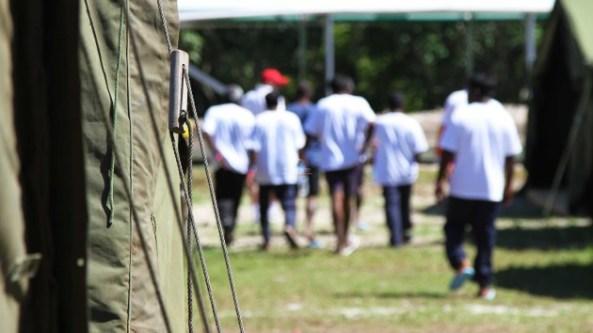 بازداشتگاه مانوس آیلند