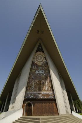 ساختمان پارلمان پایوآ گینه نو در پورت مورزبی