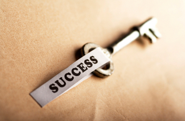 key - success