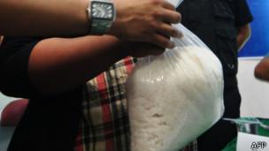 مواد مخدر شیشه هروئین
