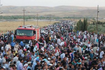 پناهجویان سوری سوریه
