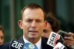 تونی آبوت نخست وزیر استرالیا