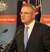 اسکات موریسون وزیر مهاجرت و شهروندی استرالیا