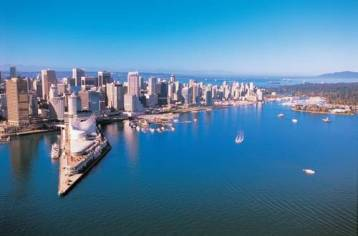 Vancouver canada harbor view