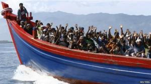 asylum seekers boat
