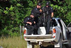 Christmas Island patrol police
