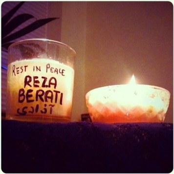 protest for reza barati