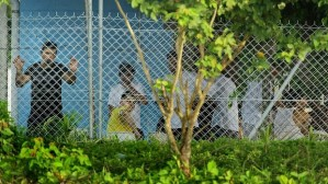 manus island detention center