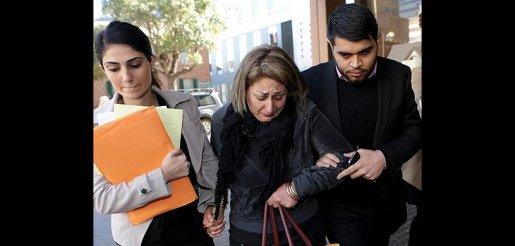 ندا اسماعيلی، دوست دختر کاظم محمدی پيام بیرون دادگاه