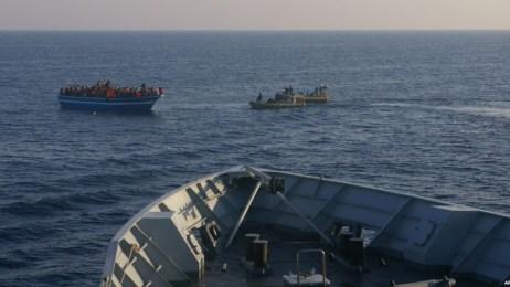 iranian boat italy sea